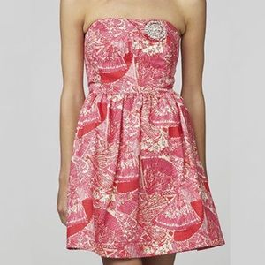 Lilly Pulitzer Sari Getting Hot in Here Dress